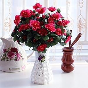 GBHNJ Sets False Decor Immortal Artificial Azalea Rose Red 94