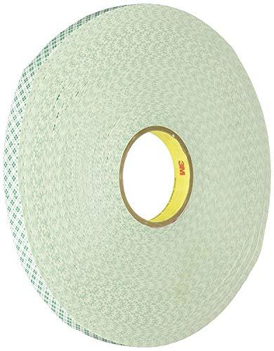 """3M Double Coated Urethane Foam Tape 4032, 1/2"""" x 5"""