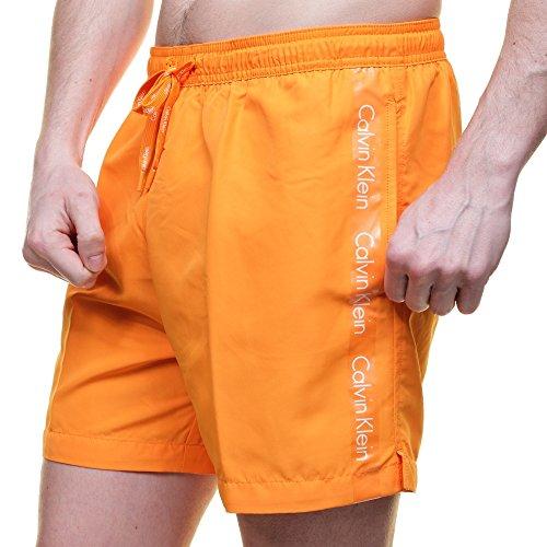 Calvin Klein Medium Drawstring Logo Tape Swim Shorts