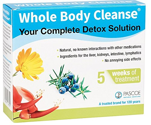 Whole Body Cleanse Kit by Pascoe. 5 Weeks of Treatment Brand: Pascoe