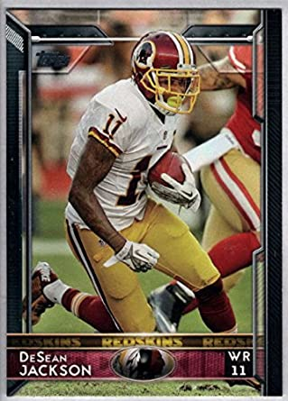 Amazon.com  2015 Topps  223 DeSean Jackson Washington Redskins NM-MT ... d26eda6cf