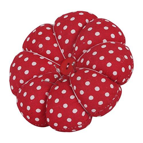 neoviva-fabric-coated-wrist-wearable-pumpkin-pin-cushion-for-hand-craft-polka-dot-red