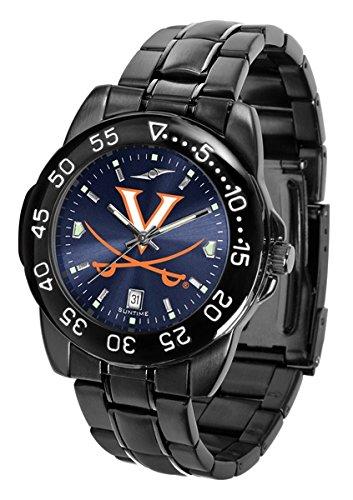 Sport Metal Anochrome Watch (Collegiate Fantom Sport Anochrome Premium Mens Watch with gunmetal band (Virginia))