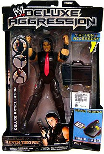 Jakks Pacific WWE Deluxe Aggression Series 9 Kevin Thorn Action Figure