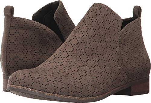 Dr. Scholl's Shoes Women's Rate Ankle Boot, Olive Perforated Microfiber Suede, 9.5 M US