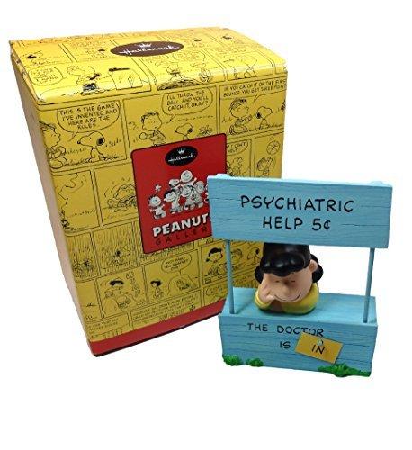 Hallmark Peanuts Gallery - LUCY MOOD BOOTH Figurine Limited Edition (QPC4031)