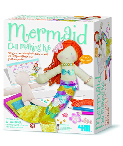 - 4M 4335 Mermaid Doll Making Kit