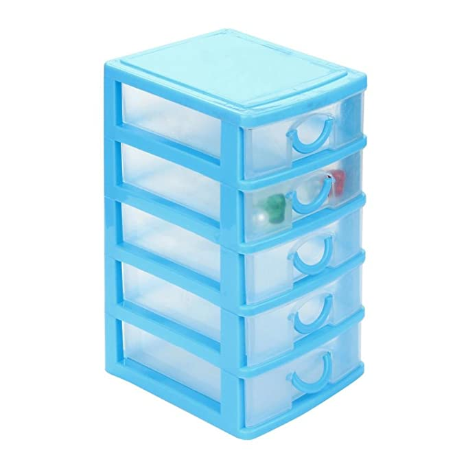 Amazon.com: Transer plástico Mini Desktop Drawer ...