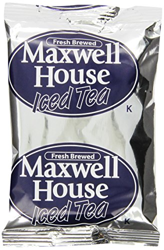 Maxwell House Loose House Blend Iced Tea, 3 oz. pack, Pack of 24 Automatic Iced Tea Brewer