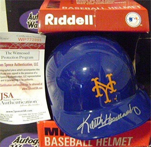 Keith Hernandez autographed New York Mets Mini Batting Helme