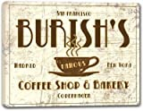 """BURISH'S Coffee Shop & Bakery Stretched Canvas Print 24"""" x 30"""""""