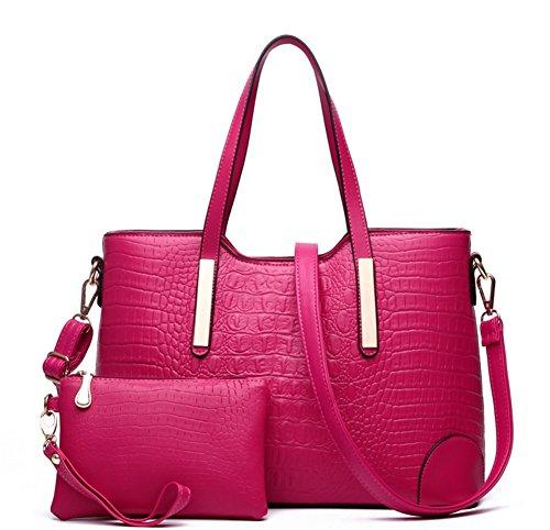 Cross Fashion Bags rosa Bao Fashion Big Shoulder blu PfpRwqZ8