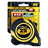 Olympia Tools 43-234 1-Inch by 25-Feet Tape Measure SAE