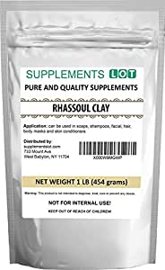 Rhassoul Clay - Ghassoul Clay1 Lb - Detoxifying and Rejuvenating clay by SaaQin