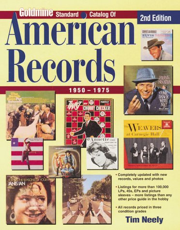 Standard Catalog of American Records, 1950-1975 (Goldmine Price Guide to Collectible Record ()