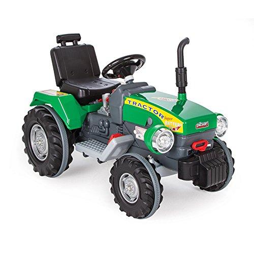 Kindertraktor mit Motor - Siva Elektro Traktor Kinder