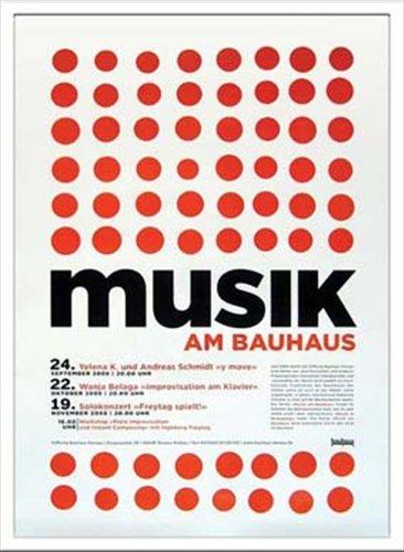 Bauhaus/バウハウス《Musik B004SE4XSE am am Bauhaus/IBH70044》☆額付グラフィックアートポスター通販☆ B004SE4XSE, トリガーオンラインショップ:afca0982 --- ijpba.info