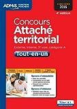 Concours Attaché territorial - Catégorie A - Tout-en-un - Concours 2016