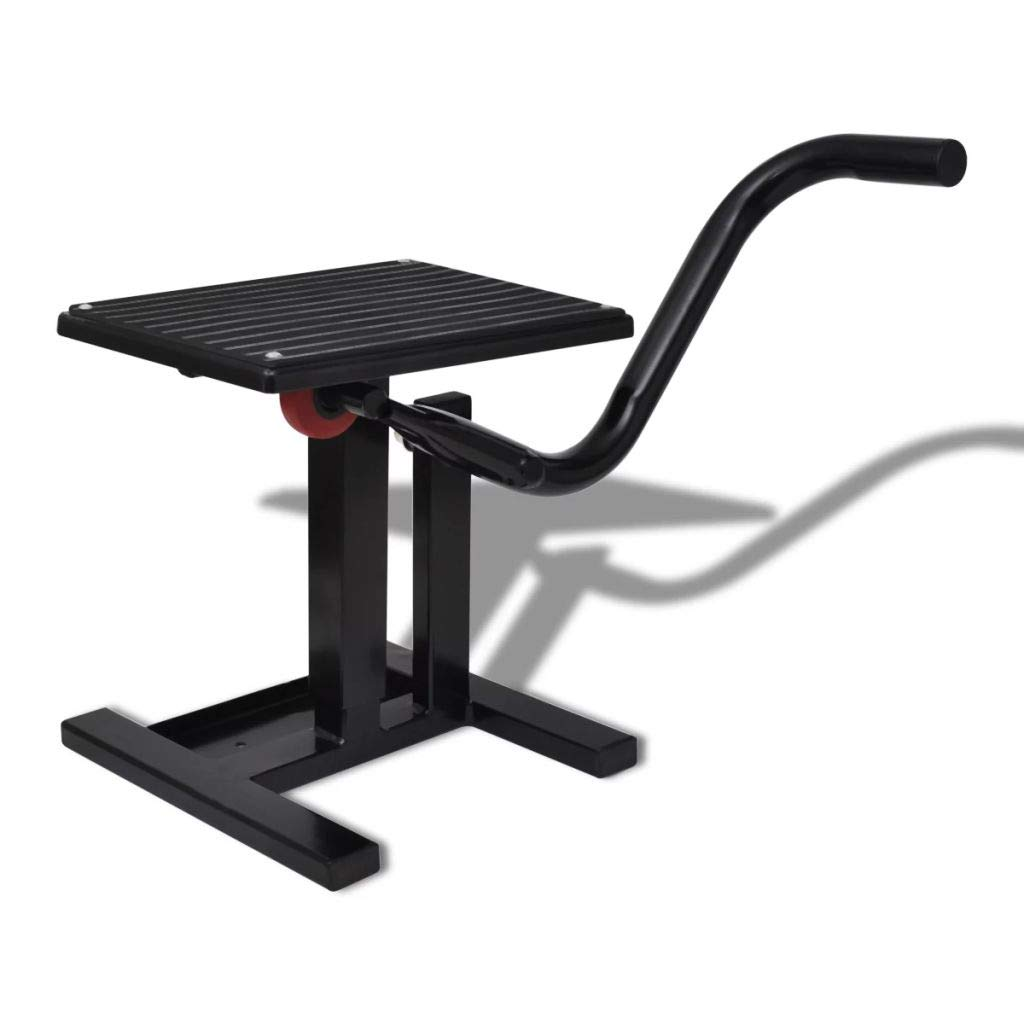 Professional Motorbike Lift Stand Black Lift Stand Motorcycle Lift Stand Weight: 15.4 lb