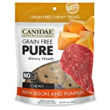 CANIDAE Grain Free PURE Chewy Dog Treats with Biso...