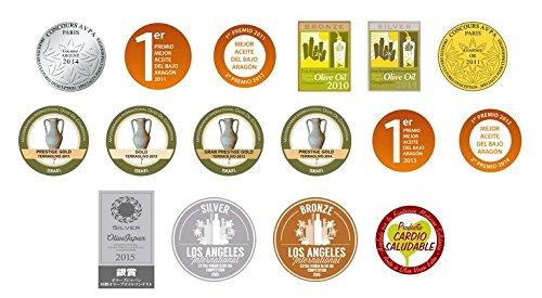 6 botellas vidrio 500 ml - Impelte Nuevo - Aceite de oliva virgen extra variedad empeltre D. O. Bajo Aragon: Amazon.es: Alimentación y bebidas