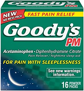 product image for Goody's PM Powder, 16-Count (Pack of 3)