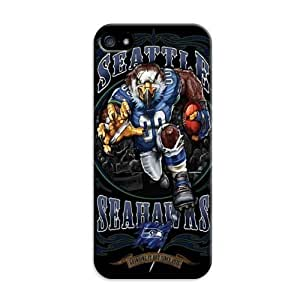 Fashion Popular Nfl Seattle Seahawks Team Logo Durable Hard Case For HTC One M8 Cover Case by ruishername