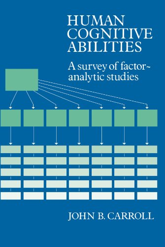Human Cognitive Abilities: A Survey of Factor-Analytic Studies