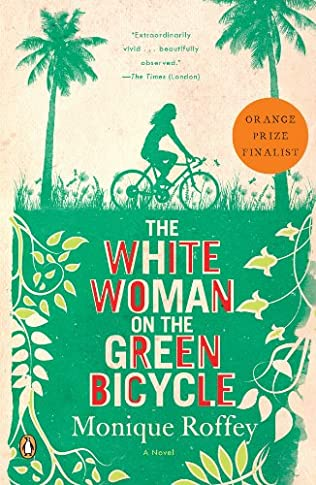 book cover of The White Woman On the Green Bicycle