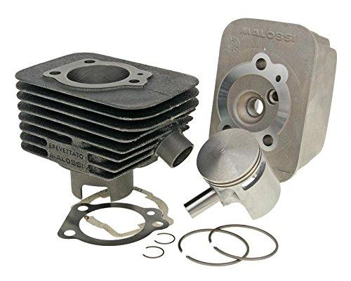 zylinderkit MALOSSI Sport CVF 63 ccm per Piaggio, Vespa Ciao, PX50 (12 mm bullone pistone) PX50(12mm bullone pistone)