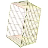SPARES2GO Universal Zinc Coated Terminal Guard Square Boiler Flue Cage (11 x 11 x 6) by Spares2go