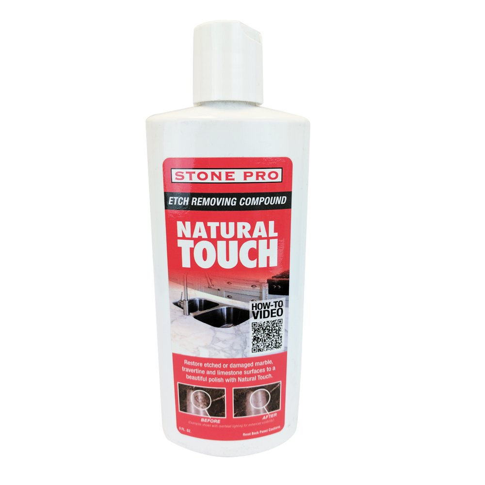 Stone Pro Natural Touch - Etch Removing Compound - 8 oz. by Stone Pro