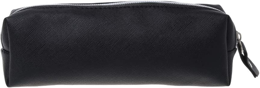 color gris 7.87inx2.76in exing escuela estuche escolar de l/ápiz porte-stylo bolsa de almacenaje de la escuela ni/ña maquillaje bolsa bolsa Kawaii bolsillo zip feutr/ée redonda