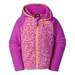 The North Face Glacier Hoodie Toddler Girls Luminous Pink 2T