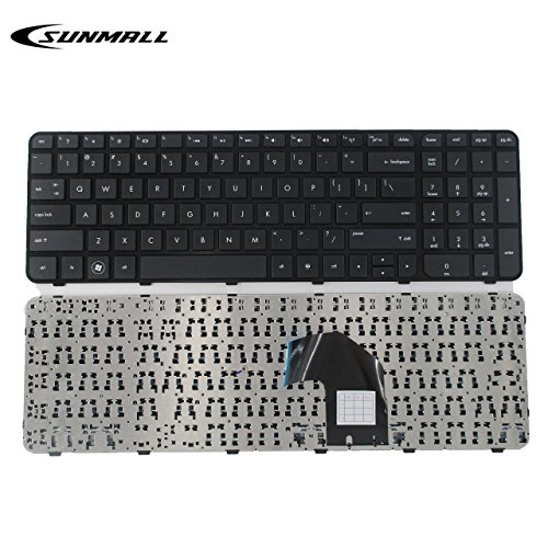 SUNMALL Replacement Keyboard with Frame Compatible with HP Pavilion G6-2000 G6-2100 G6-2200 G6-2300 G6T-2000 g6-2002xx g6-2010nr g6-2090ca g6-2106nr g6-2111us Series US Layout (6 Months Warranty)