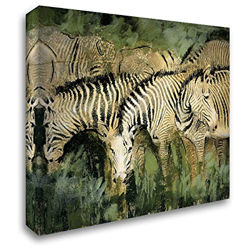 Heart of The Jungle I 20x20 Gallery Wrapped Stretched Canvas Art by Jardine, Liz