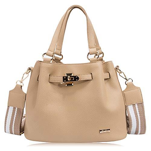 RenDian Women Casual Top Handle Satchel Shoulder Bag Tote Purse Handbags for Travel/Leisure/Dating by RenDian (Image #7)