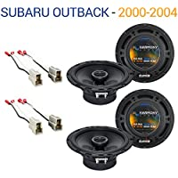 Subaru Outback 2000-2004 Factory Speaker Upgrade Harmony (2) R65 Package New