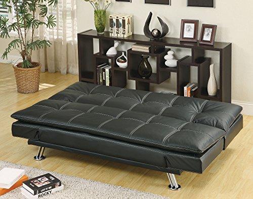Coaster 300281 Home Furnishings Sofa Bed, Black