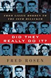 Did They Really Do It?, Fred Rosen, 1560257741