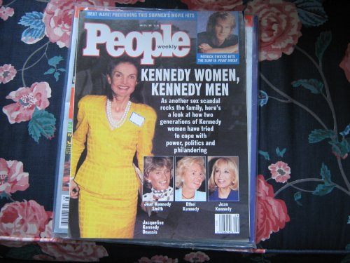 People Weekly (Jacqueline Kennedy Onassis , Kennedy Women , Kennedy Men , Jean Kennedy Smith , Ethel Kennedy , Joan Kennedy, May 27 , 1991)