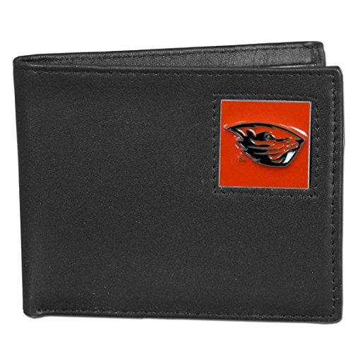 Oregon St. Beavers Leather Bi-fold Wallet