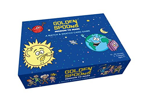 Golden Spoons: Mission to Mars - A Match & Snatch Card Game -