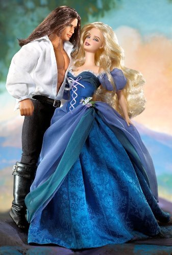 Barbie Romance Novel Collection Jude Deveraux the Raider Barbie & Ken Set