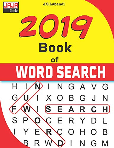 Pdf Humor 2019 Book of WORD SEARCH (365 Puzzles fully dated with fun filled word search through-out the year.)