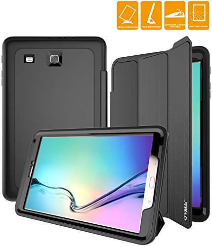 Samsung-Galaxy-Tab-E-96-Inch-Case-SEYMAC-Three-Layer-Drop-Protection-Rugged-Protective-Heavy-Duty-Tab-e-Case-with-Magnetic-Cover-for-Samsung-Galaxy-Tab-E-96-Inch-SM-T560-T561-Black