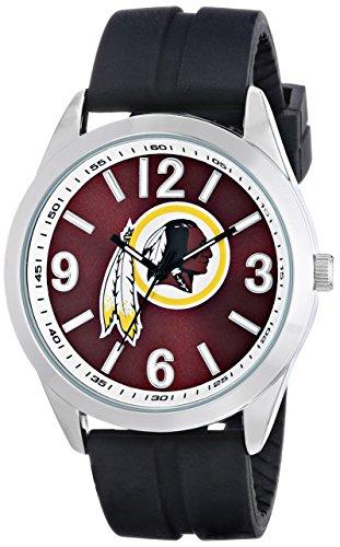 Game Time Nfl Clock (Game Time Men's NFL-VAR-WAS Varsity Analog Display Japanese Quartz Black)