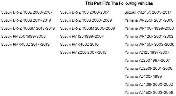 Primary Drive Rear Chain Guide Guard SUZUKI RM125 RM250 1999-2008