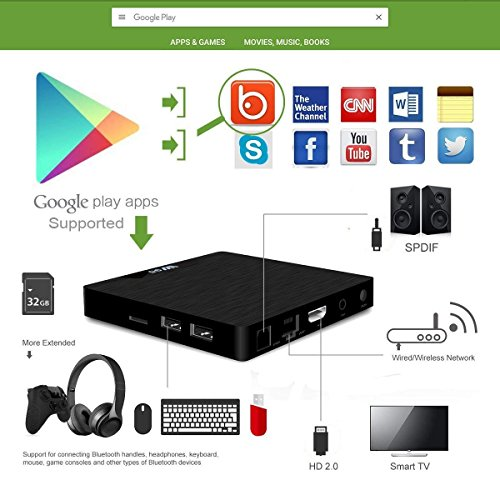 7 1 Android TV Box - J-DEAL W1 Newest Android 7 1 Smart TV Boxsets