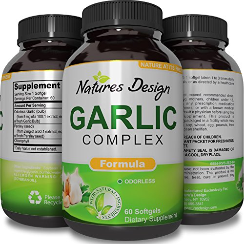 Odorless Garlic Parsley Supplement Cardiovascular product image